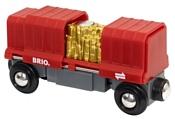 Brio Вагон с золотом 33938