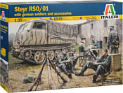 Italeri 6549 Тягач Steyr RSO/01 with German Soldiers