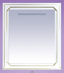 Misty Зеркало Praga - 90 (белый)