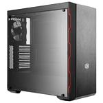 Cooler Master MasterBox MB600L (B600L-KANN-S00) w/o PSU Black/red
