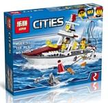 Lepin City 02028 Рыболовный катер