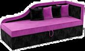 Mebelico Дюна 59398 (вельвет, фиолетовый/черный)
