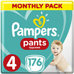 Pampers Pants 4 Monthly Pack (176 шт)