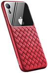 Baseus Weaving для iPhone XS (красный)