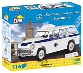 Cobi Youngtimer Collection 24549 Warszawa 223K Ambulance