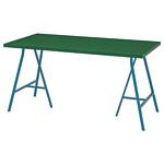 Ikea Линнмон/Лерберг (зеленый/синий) 193.310.24