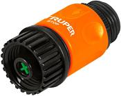 """Truper Коннектор для шланга быстрозащелкивающийся аквастоп 3/4"""" 12722"""