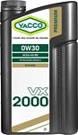 Yacco VX 2000 0W-30 2л