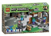 BELA My World 10810 Пещера зомби
