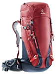 Deuter Guide 35+8 red/blue (cranberry/navy)