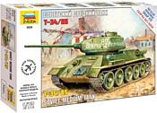 "Звезда Советский средний танк ""Т-34/85"""