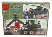 Enlighten Brick CombatZones 823 Военный танк