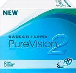 Bausch & Lomb Pure Vision 2 HD -3 дптр 8.6 mm