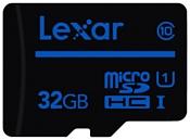 Lexar microSDHC Class 10 UHS Class 1 32GB