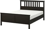 Ikea Хемнэс 200x180 (черно-коричневый, основание Леирсунд) 692.108.21