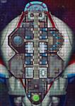 Мир Хобби Starfinder Игровое поле Рассветная дева
