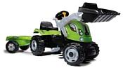 Smoby Трактор педальный строительный XL с прицепом