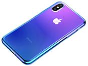 Baseus Glow для iPhone XS (синий)