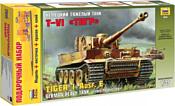 Звезда Немецкий тяжелый танк T-VI «Тигр». Подарочный набор.