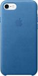 Apple Leather Case для iPhone 7 Sea Blue (MMY42)
