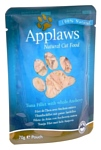 Applaws Cat Pouch Tuna Fillet with whole Anchovy (0.07 кг) 12 шт.