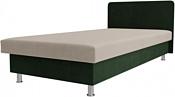 Лига диванов Мальта 200x80 101736 (бежевый/зеленый)