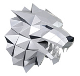 PAPERRAZ Лютоволк (серый)