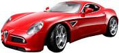 Bburago Alfa Romeo 8C Competizione 2007 18-43004 (красный)