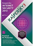 Kaspersky Internet Security 2013 (2 ПК, 1 год)