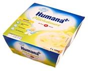 Humana с бананом, 4x100 г