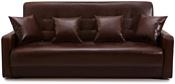 Луховицкая Мебельная Фабрика Аккорд книжка (тёмно-коричневый, боннель)