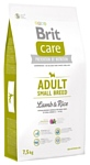 Brit (7.5 кг) Care Adult Small Breed Lamb & Rice