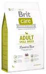 Brit (3 кг) Care Adult Small Breed Lamb & Rice