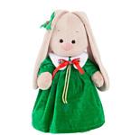 Зайка Ми в рождественском платье (32 см)