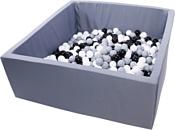 Misioo 130x130x50 700 шаров (графитовый)