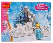 Jisi bricks (Decool) Princess 70211 Ледяной замок Эльзы