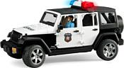 Bruder Jeep Wrangler Unlimited Rubicon Police 02526