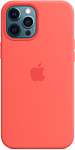 Apple MagSafe Silicone Case для iPhone 12 Pro Max (розовый цитрус)