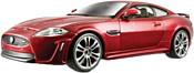 Bburago Jaguar XKR-S 18-21063 (красный металлик)