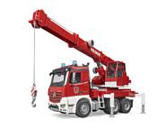 Bruder MB Arocs fire service crane 03675