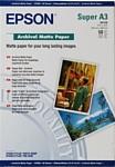 Epson Archival Matte Paper A3+ 50 листов (C13S041340)