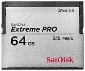Sandisk Extreme PRO CFast 2.0 515MB/s 64GB