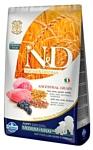 Farmina (12 кг) N&D Low-Grain Canine Lamb & Blueberry Puppy Medium & Maxi