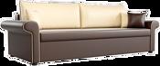 Mebelico Милфорд 60789 (коричневый/бежевый)