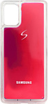 EXPERTS NEON SAND TPU CASE для Samsung Galaxy A31 с LOGO (фиолетовый)
