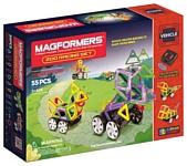 Magformers Vehicle 63142 Гонки в зоопарке