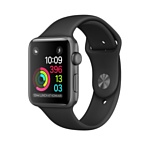 Apple Watch Series 2 42mm Space Gray with Black Sport Band (MP062)