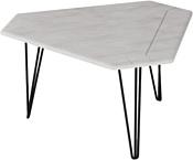 Калифорния мебель Тет 450 (белый бетон)