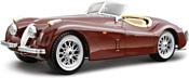 Bburago Jaguar Xk 120 Roadster 18-22018
