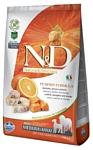 Farmina (2.5 кг) N&D Grain-Free Canine Pumpkin Codfish & Orange Adult Medium & Maxi